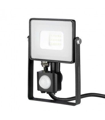V-Tac 10W LED strålkastare med sensor - SMD, Samsung LED chip