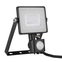 Strålkastare V-Tac 30W LED strålkastare med sensor - SMD, Samsung LED chip