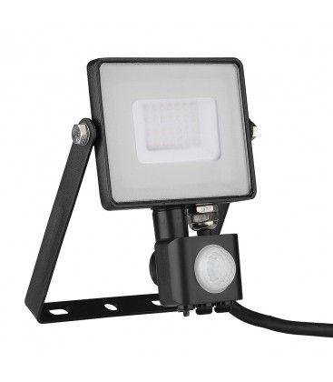 V-Tac 30W LED strålkastare med sensor - SMD, Samsung LED chip