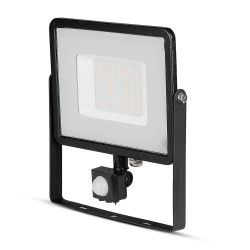 Strålkastare V-Tac 50W LED strålkastare med sensor - SMD, Samsung LED chip